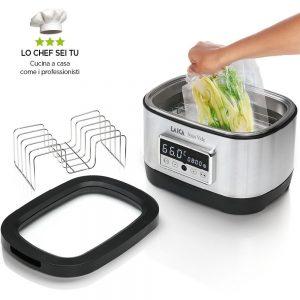 Домашен уред за нискотемпературно готвене на водна баня Sous Vide Laica SVC200