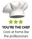 Вие сте главният готвач