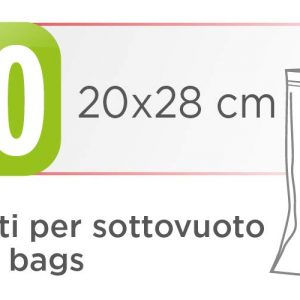 Пликове за вакуумиране Laica 20x28 см - 100 бр. VT35012