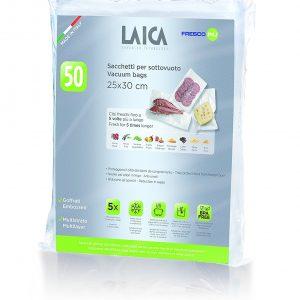 Гофрирани / релефни пликове за вакуумиране Laica 25x30 см - 100бр. 2xVT35100